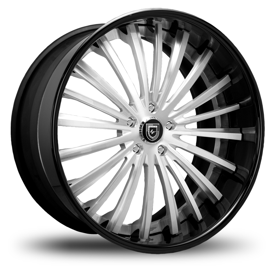 Lexani 722 Brushed Center Finish Wheels