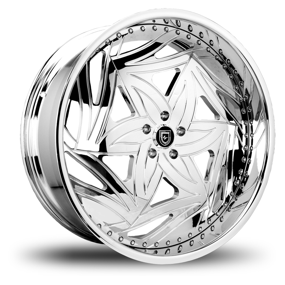 Lexani 726 Scorpio Chrome Wheels