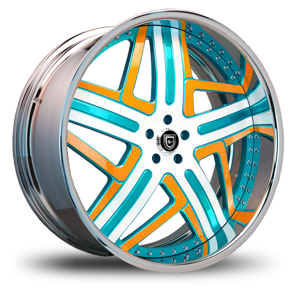 Lexani 727 Libra Custom Painted Wheels