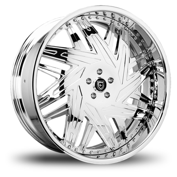 Lexani 730 Leo Chrome Wheels