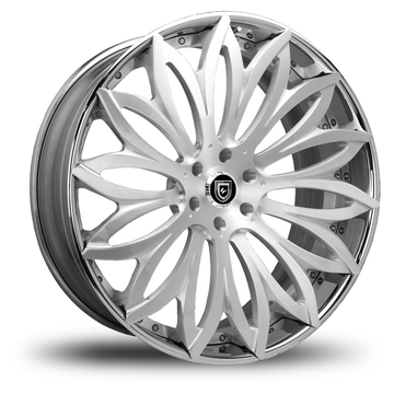 Lexani 731 Pisces Brushed Wheels