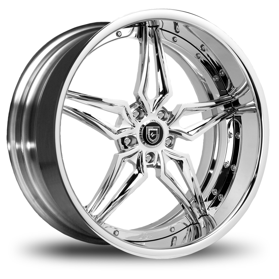 Lexani 733 Chrome Finish Wheels