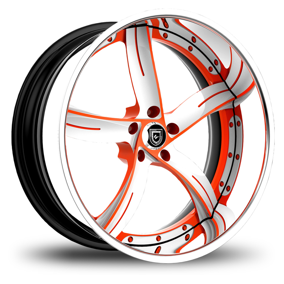 Lexani 735 Custom Painted Finish Wheels