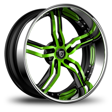 Lexani 737 Custom Painted Finish Wheels
