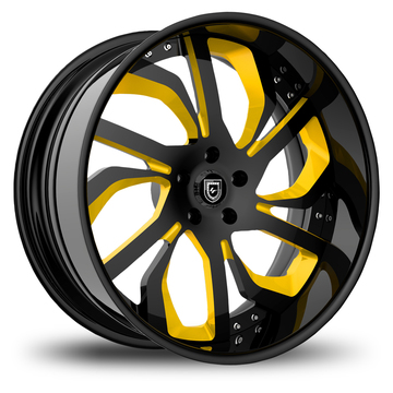 Lexani 738 Custom Painted Finish Wheels