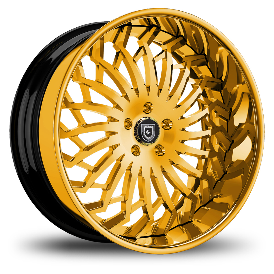 Lexani 743 Spartacus Custom Painted Finish Wheels