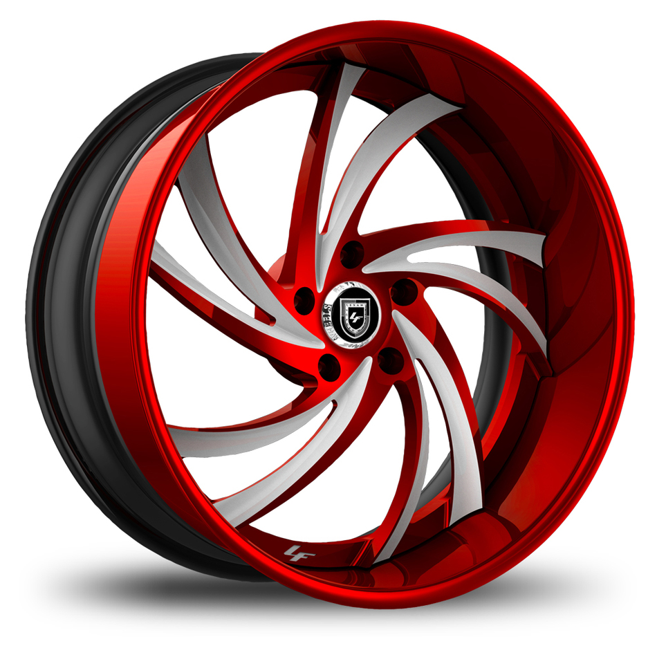 Lexani 744 Twister Custom Painted Finish Wheels