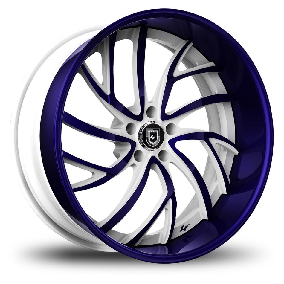 Lexani 745 Calypso Custom Painted Finish Wheels