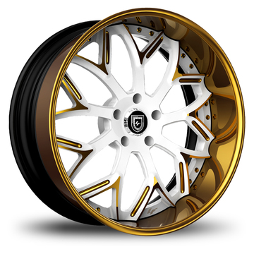 Lexani 750 Bulgari Custom Painted Finish Wheels