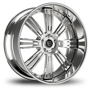 Lexani 755 Grino Chrome Finish Wheels