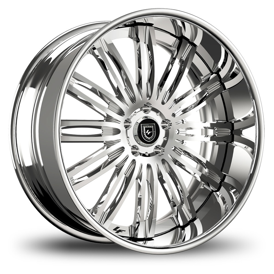 Lexani 758 Bison Chrome Finish Wheels