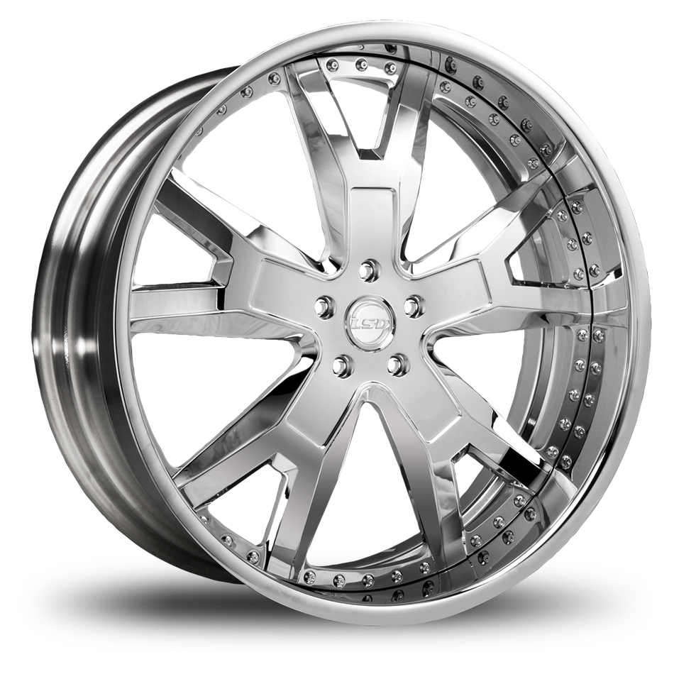 Lexani Buckle Chrome Finish Wheels