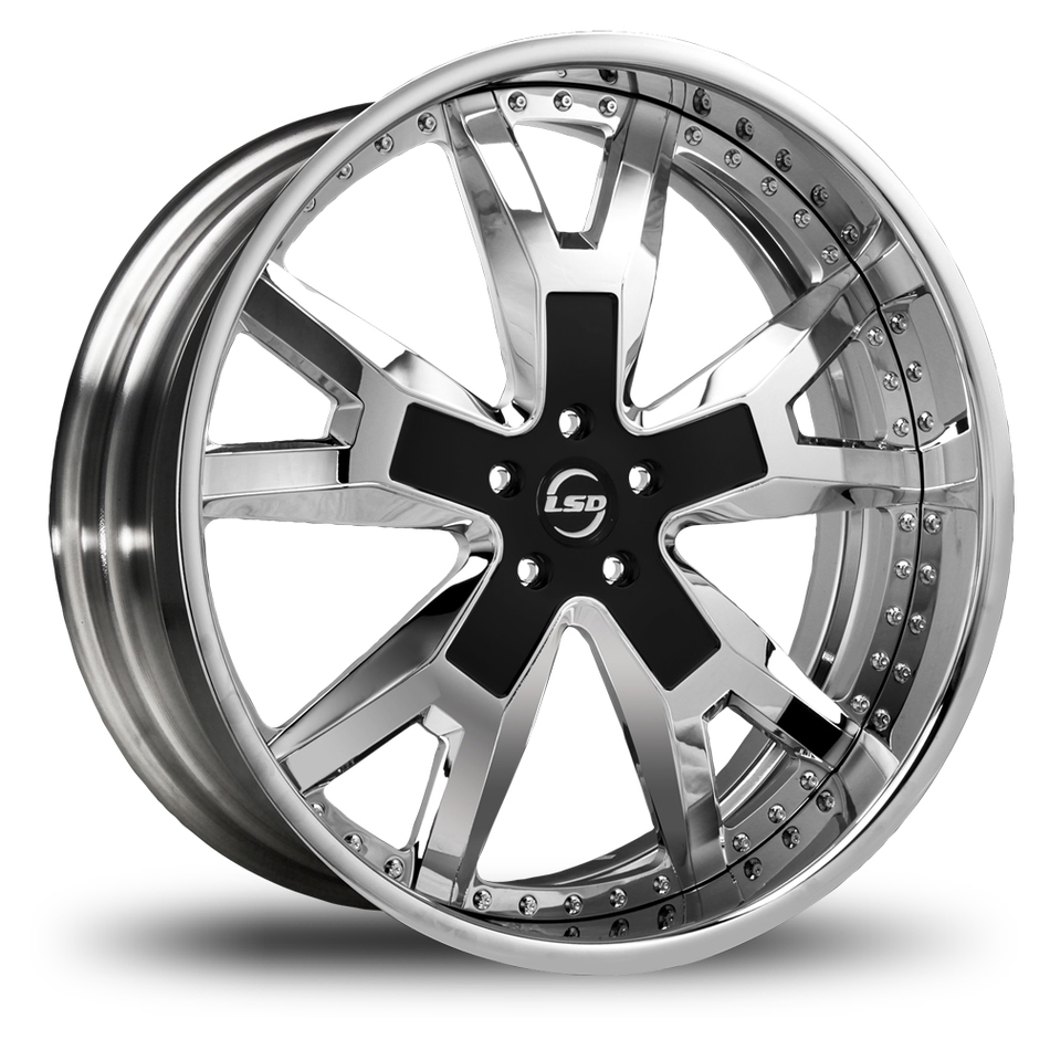 Lexani Buckle Custom Painted Finish Wheels