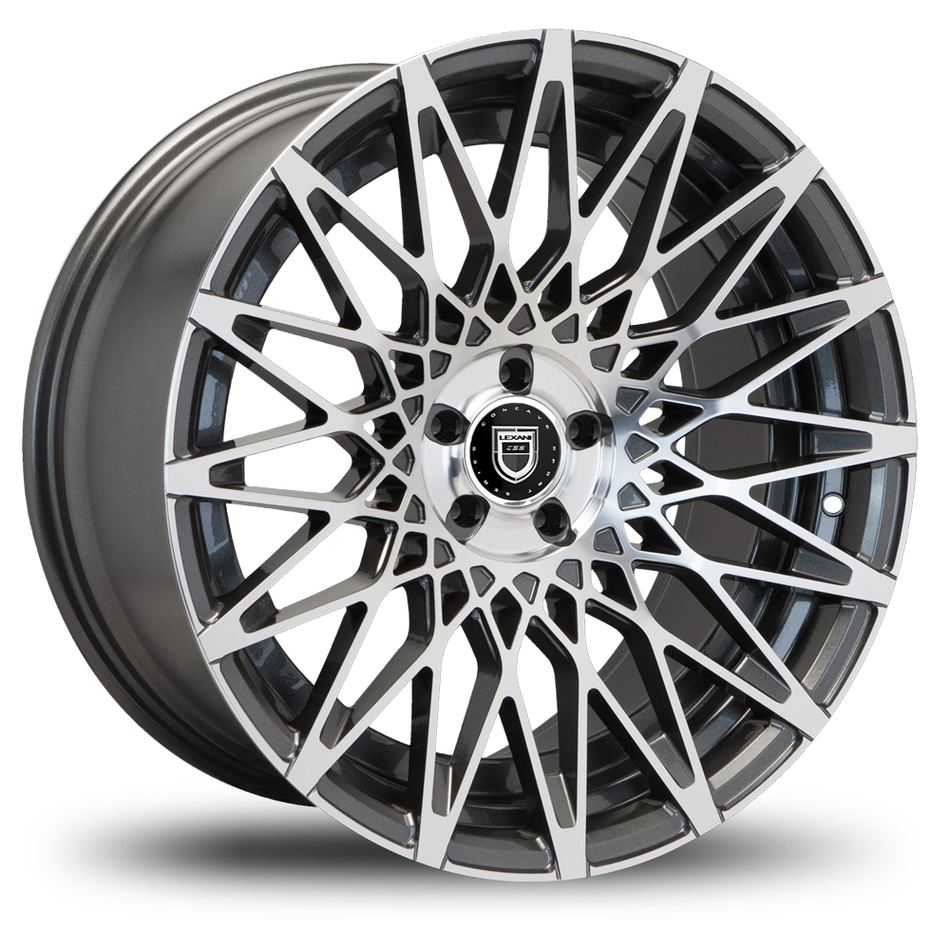 Lexani CSS-16 Gunmetal and Machined Face Wheels