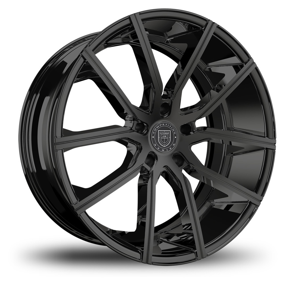 Lexani Gravity Gloss Black Finish Wheels