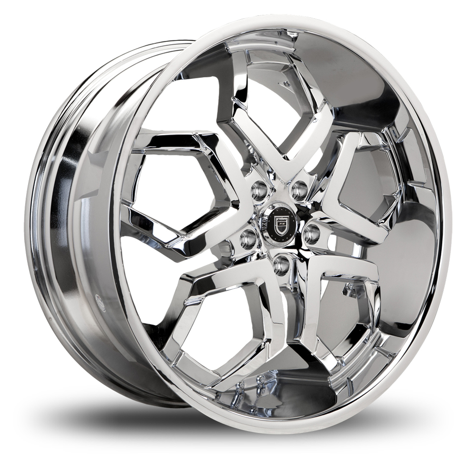 Lexani Hydra Chrome Finish Wheels