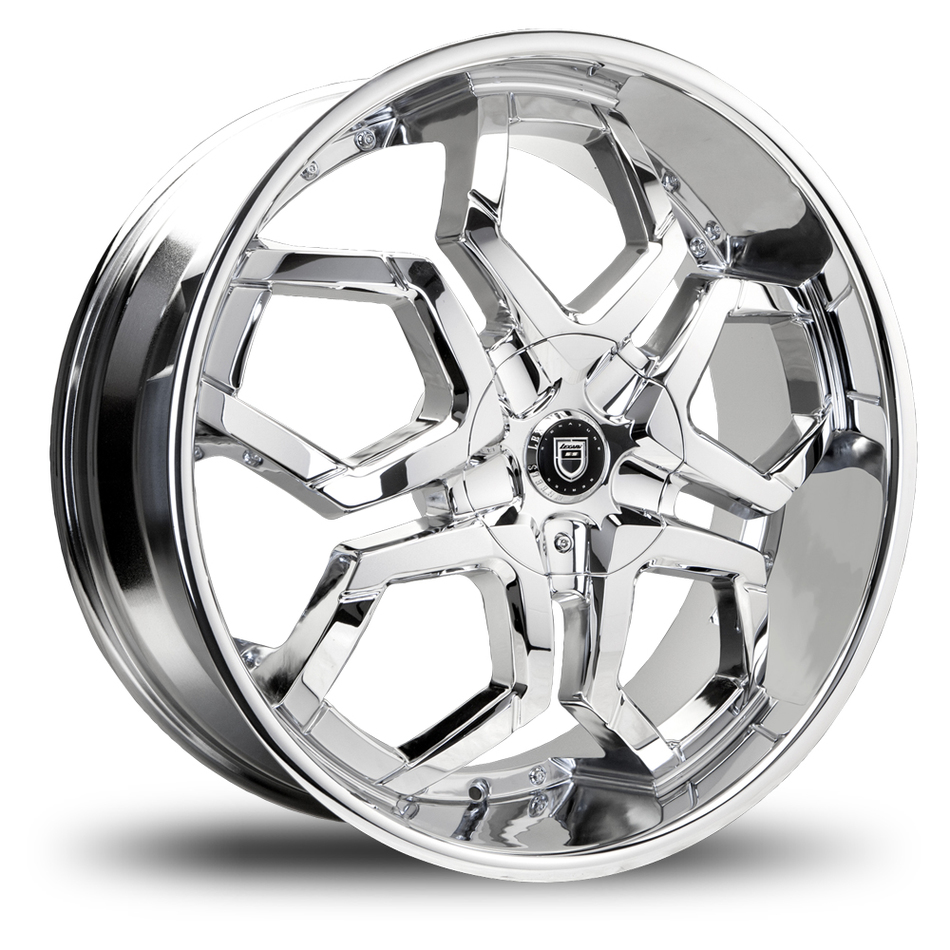 Lexani Hydra Capped Chrome Wheels