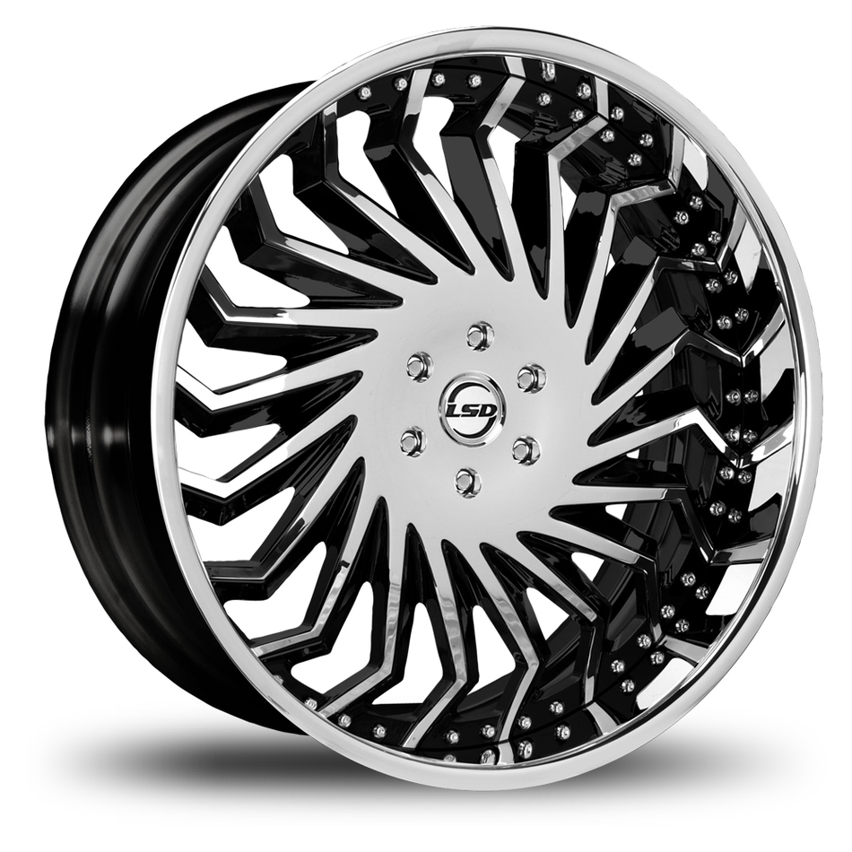 Lexani Hype Machine Black Finish Wheels