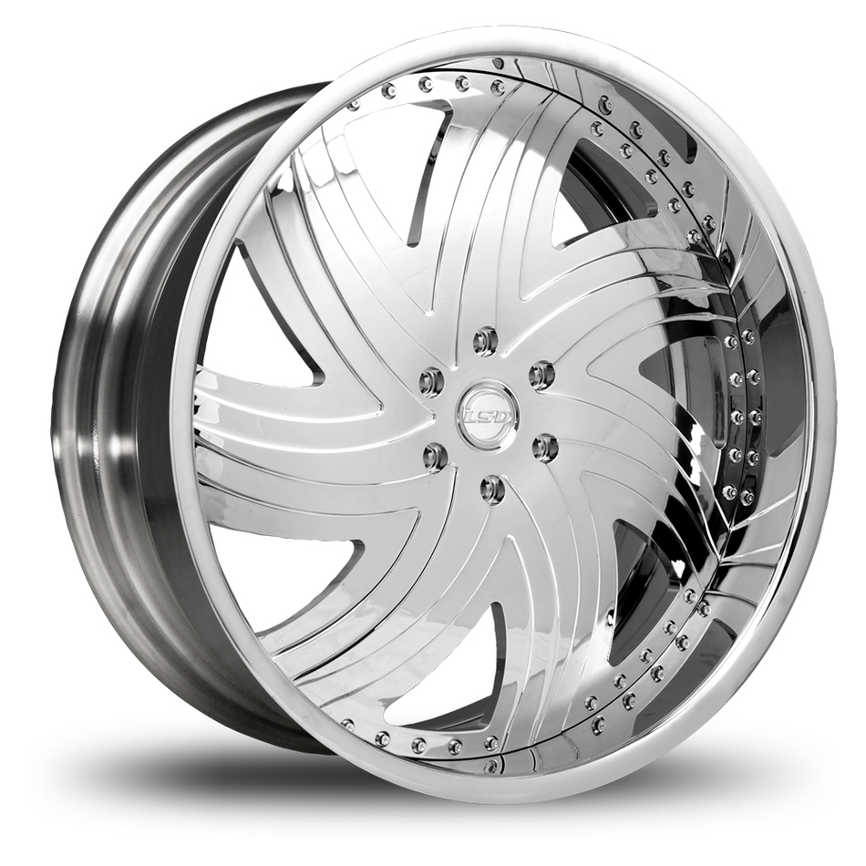 Lexani LSD-3 Chrome Wheels