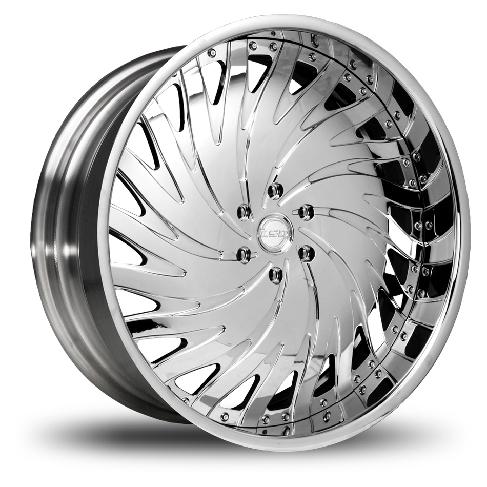 Lexani LSD-4 Chrome Wheels