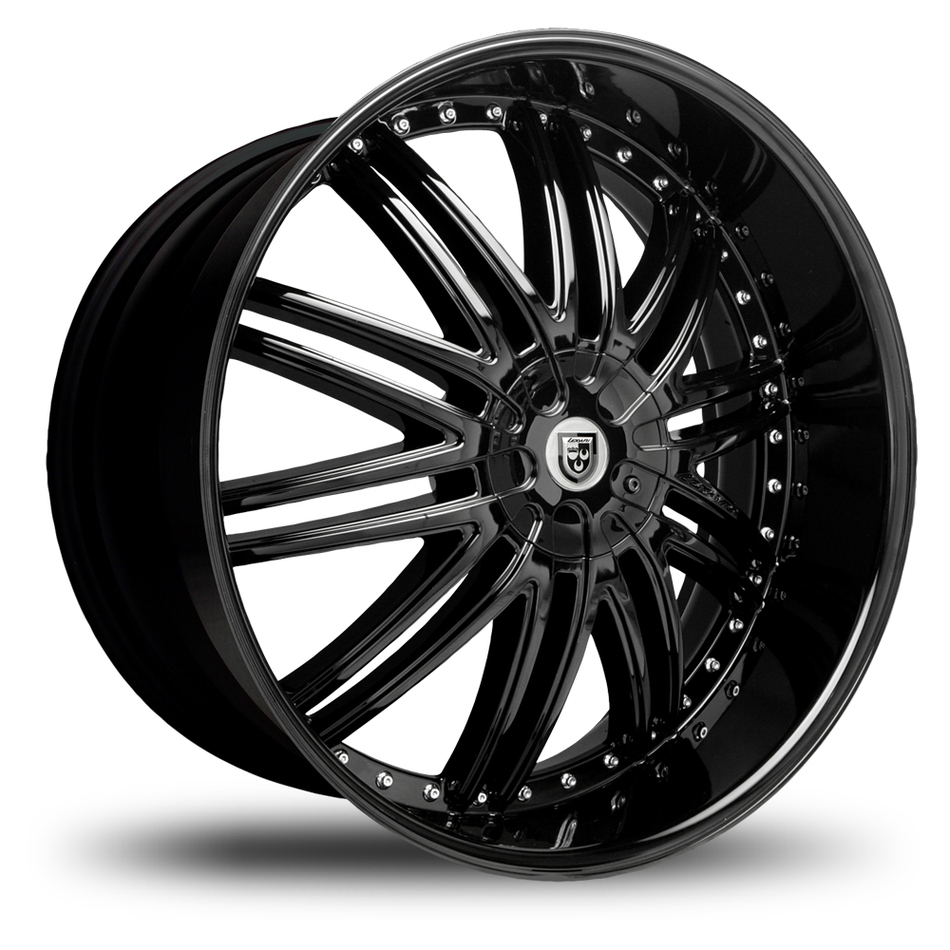 Lexani LX-10 Gloss Black Finish Wheels