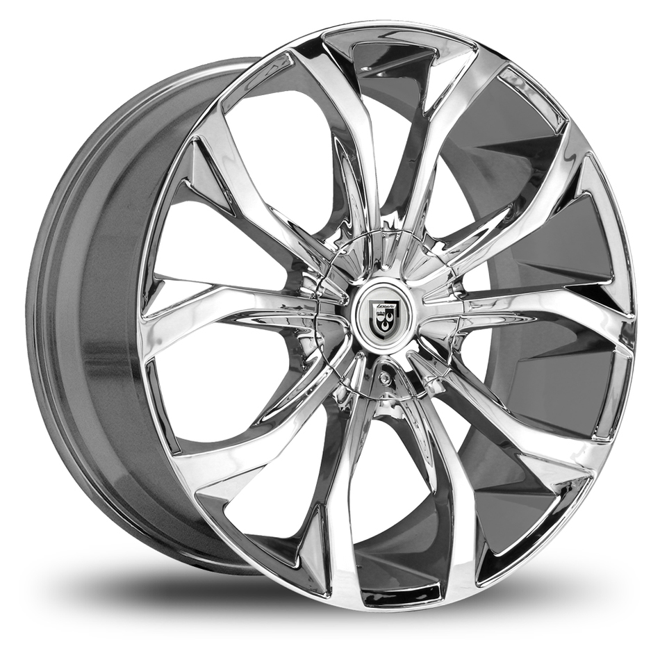 Lexani Lust No Lip Chrome Wheels