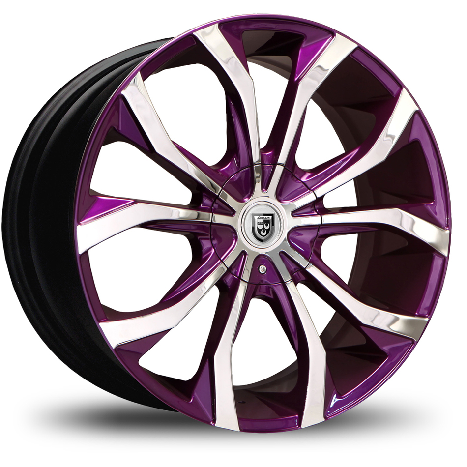 Lexani Lust No Lip Custom Painted Wheels