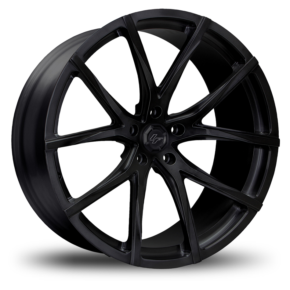 Lexani M-102 Satin Black Mono Block Wheels