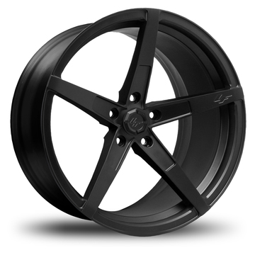 Lexani M-Indy Satin Black Finish Wheels