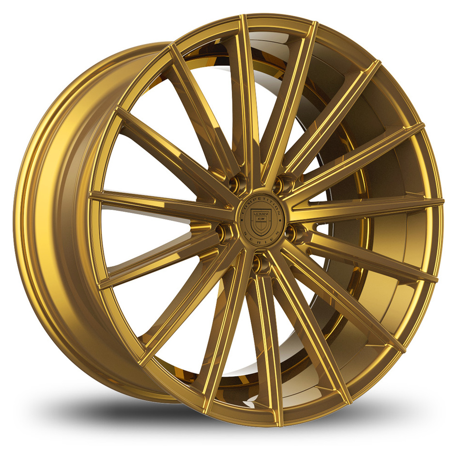 Lexani Pegasus Gold Finish Wheels