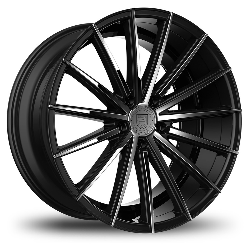 Lexani Pegasus Custom Black Chrome Finish Wheels