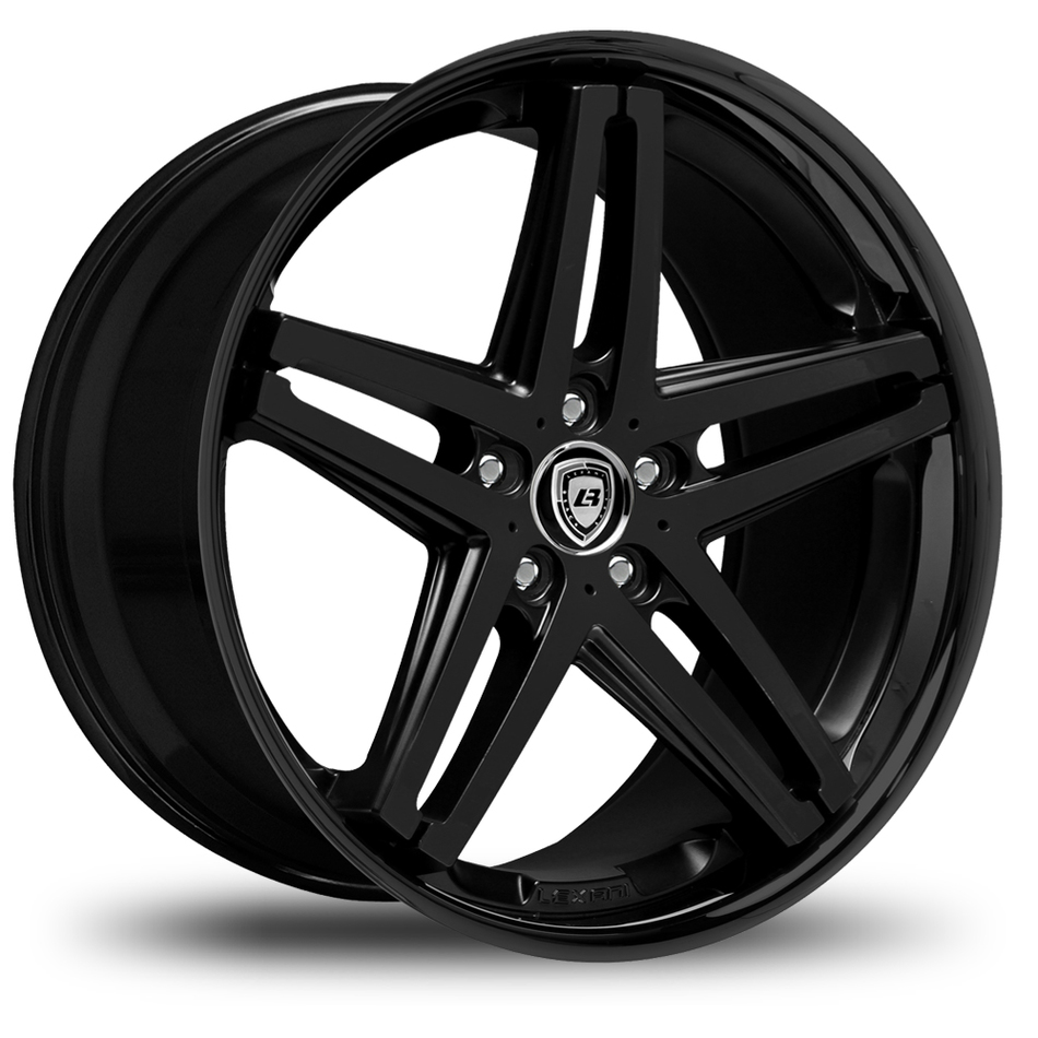 Lexani R-Five Gloss Black Wheels