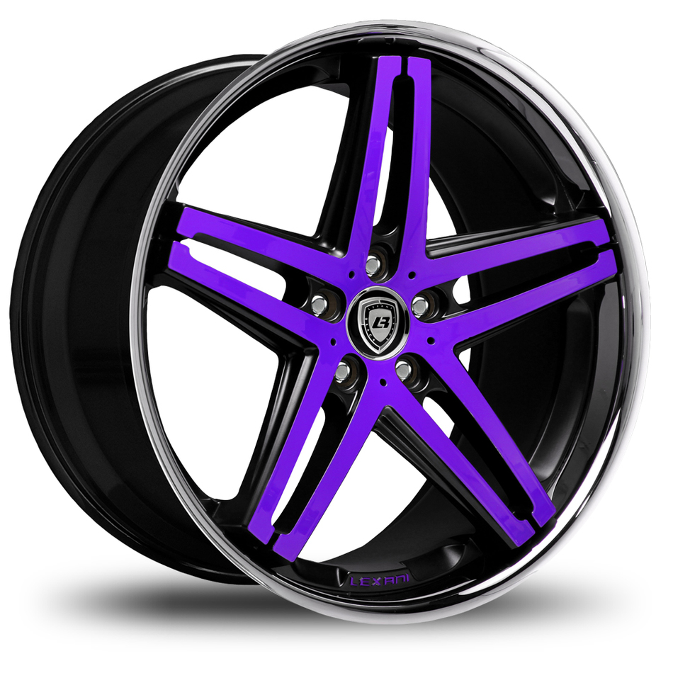 Lexani R-Five Custom Painted Wheels