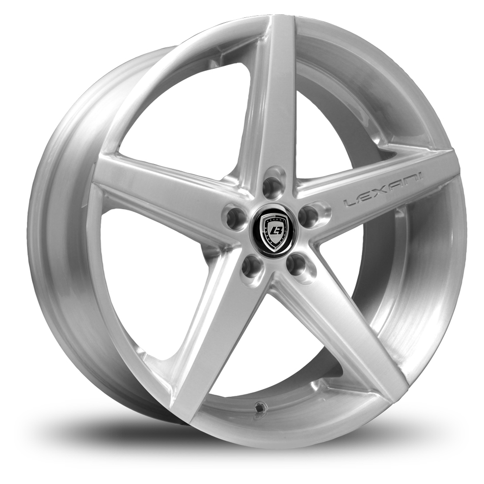 Lexani R-Four Eurobrush Finish Exposed Lugs Wheels