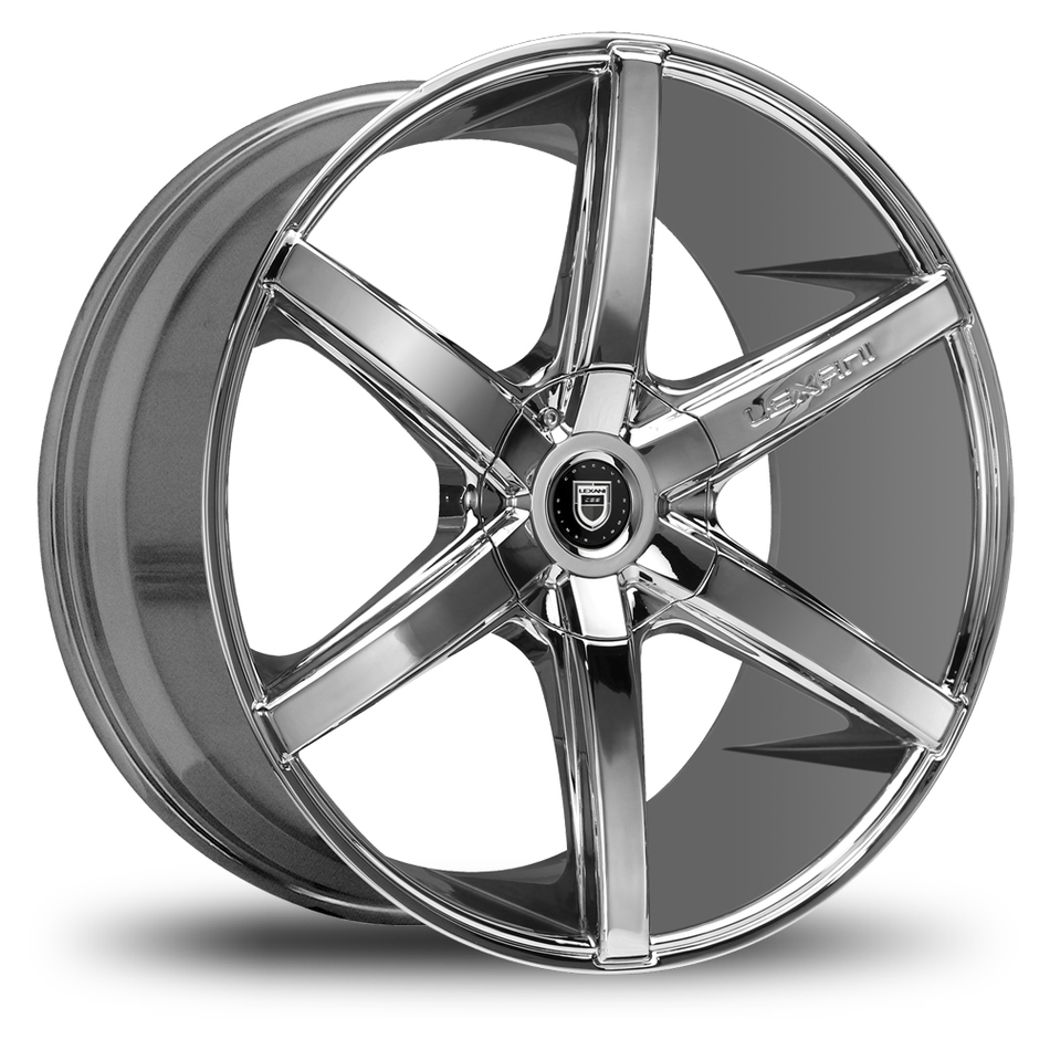 Lexani R-Six Chrome Wheels