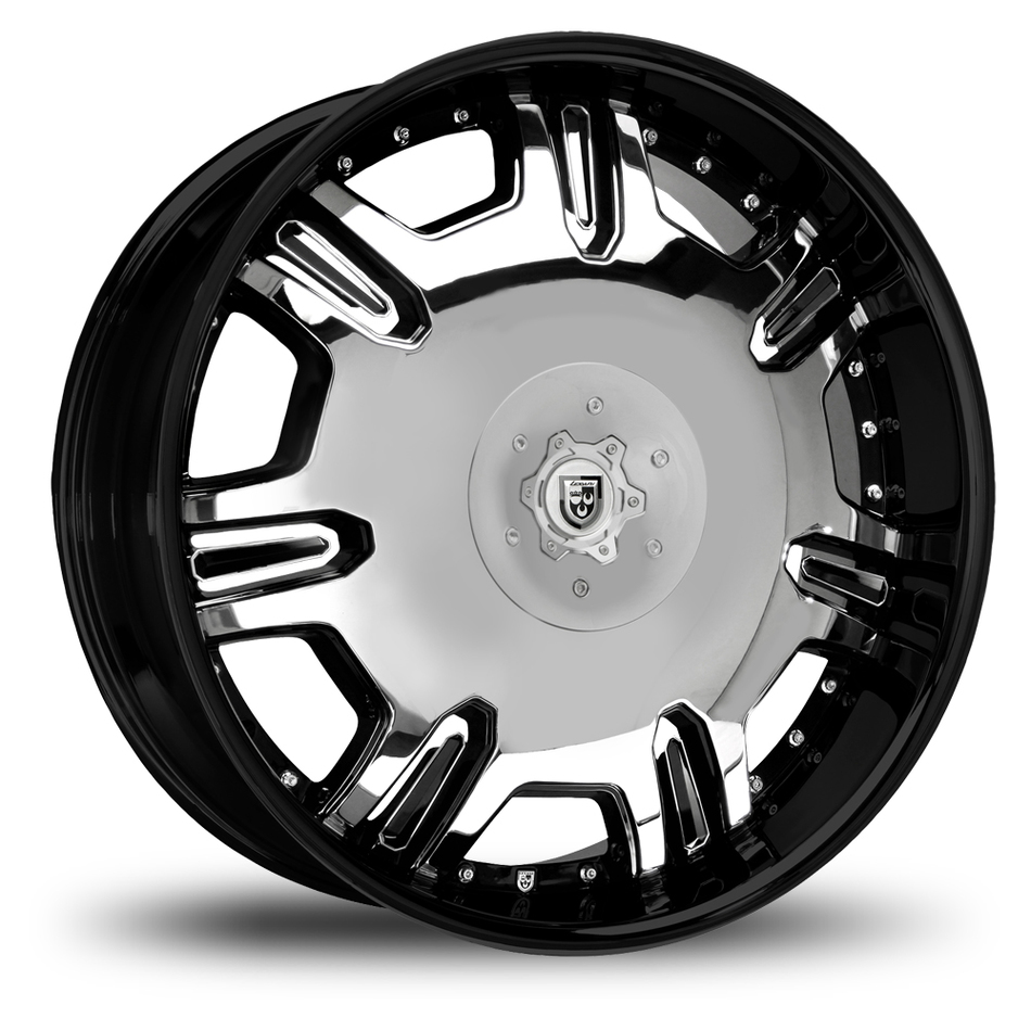Lexani Radiant Chrome 2 Tone Wheels