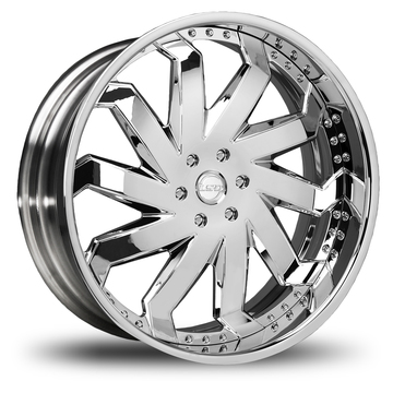 Lexani Rain Chrome Wheels