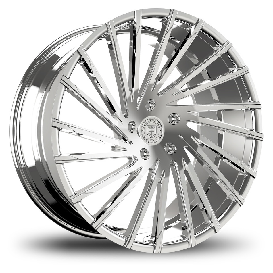 Lexani Wraith Chrome Finish Wheels