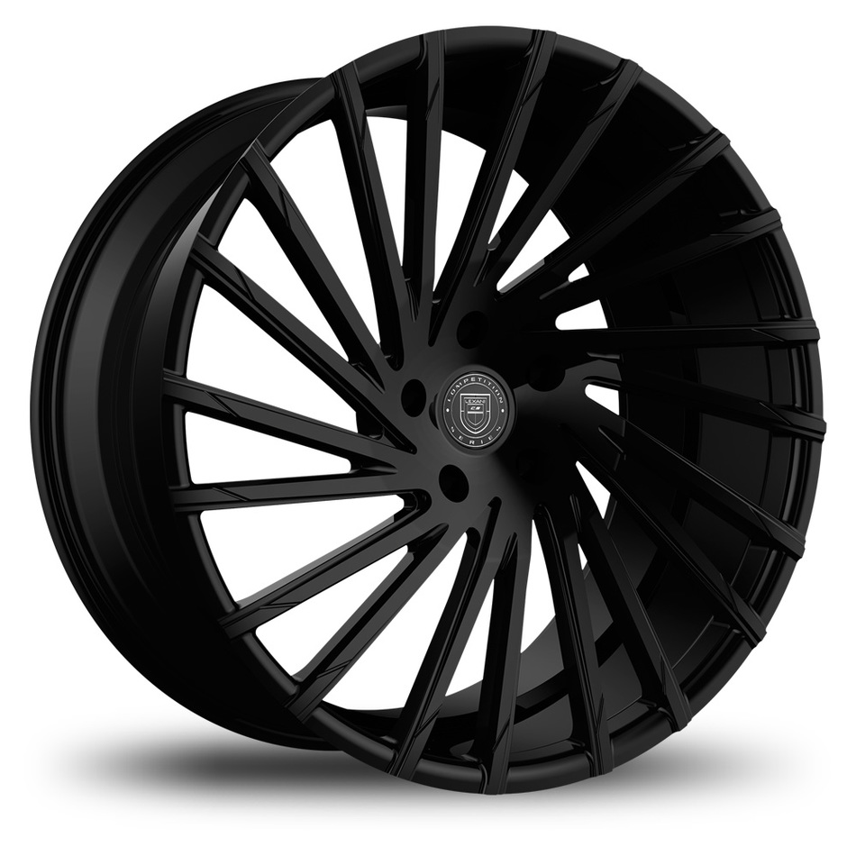 Lexani Wraith Gloss Black Finish Wheels