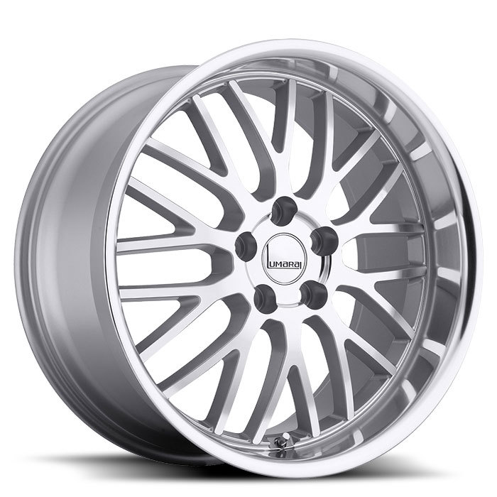 Lumarai Kya Silver with Mirror Cut Lip Lexus Wheels - Standard