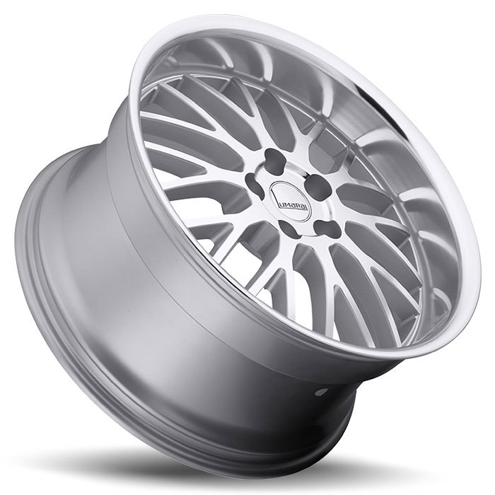 Lumarai Kya Silver with Mirror Cut Lip Lexus Wheels - Lay