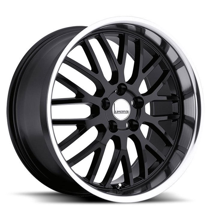 Lumarai Kya Gloss Black with Mirror Lip Lexus Wheels - Standard