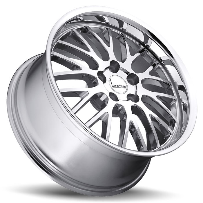 Lumarai Kya Chrome Lexus Wheels - Lay