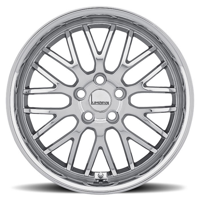 Lumarai Kya Chrome Lexus Wheels - Face