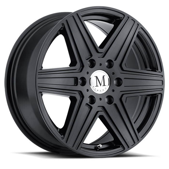 Mandrus Atlas 6 Wheels - Matte Black Finish
