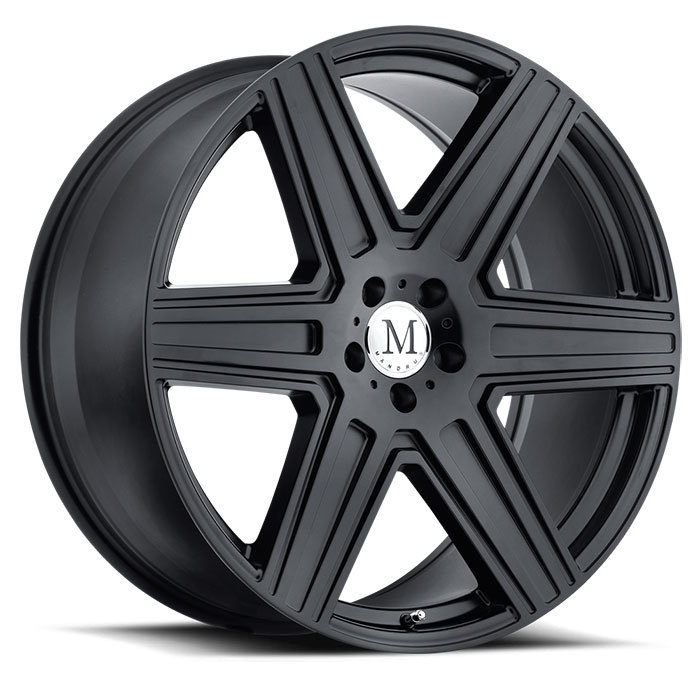 Mandrus Atlas Wheels - Matte Black Finish