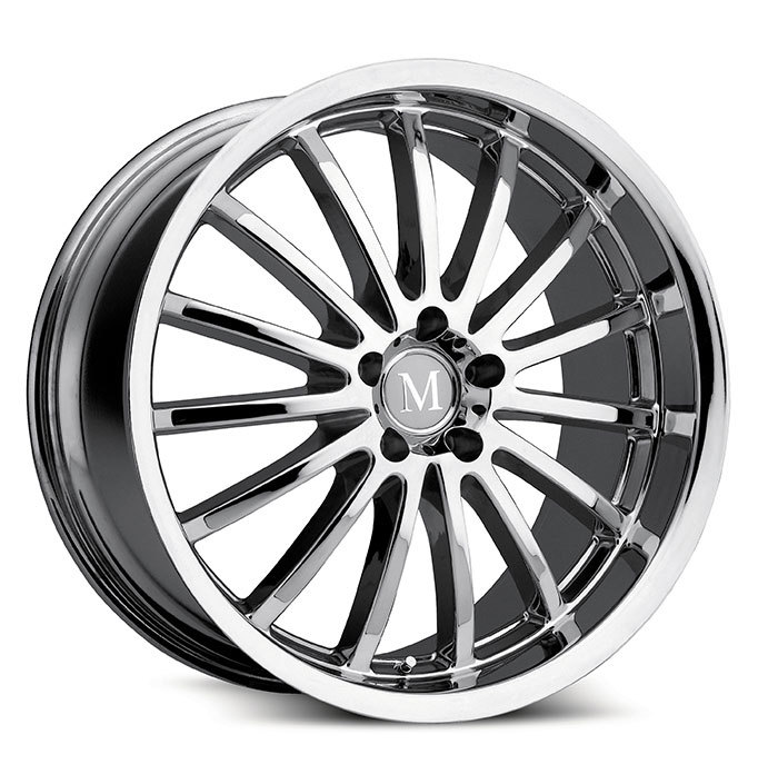 Mandrus Millenium Chrome Mercedes Wheels - Standard
