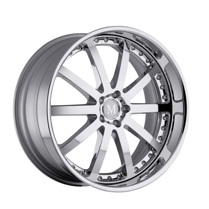 Mandrus Velo Chrome Mercedes Wheels - Standard