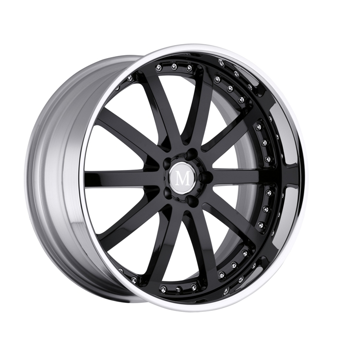 Mandrus Velo Chrome Mercedes Wheels - Lay