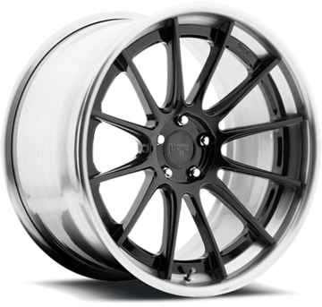Niche Agile - H360 Candy Black Wheels